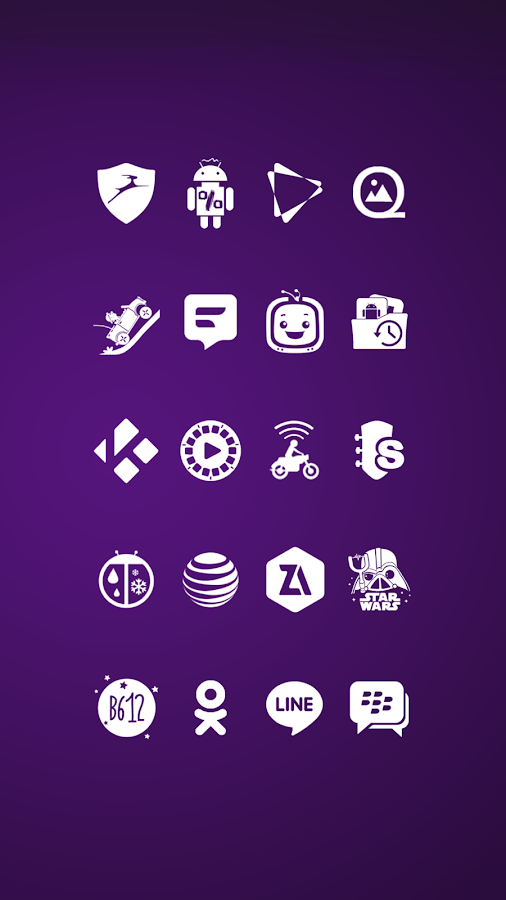 Whicons - White Icon Pack Screenshot 4