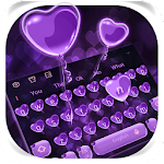 Purple Heart Balloon Icon