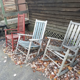 Rock On by Anne Johnson - Artistic Objects Furniture ( shabby chic, rustic furniture, rocking chairs, chairs, furniture )