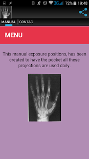 RADIOLOGY MANUAL screenshot for Android
