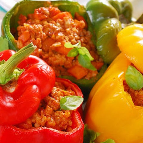 Meat-Stuffed Peppers