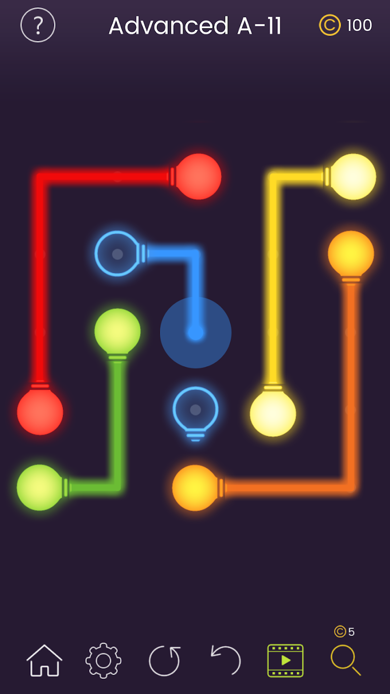 Puzzle Glow : Brain Puzzle Game Collection Screenshot 11