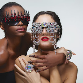 by Monika Schaible - People Fashion ( crystals, shades, fashion, jewellery, monika schaible )