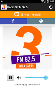 Radio 3 FM 92.5 - screenshot