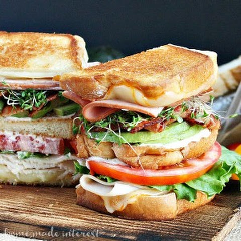Grilled California Club Sandwich