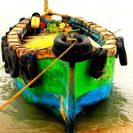 Boat by Priya Dharsini - Transportation Boats ( ocean, boat, transportation )