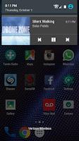 Screenshot of SomaFM Radio Player