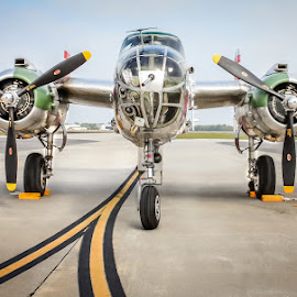 Panchito by DB Channer - Transportation Airplanes ( aviation, mitchell, bomber, aircraft, b-25 )