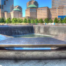 9/11 Memorial Park 2012 by Joshua Winstead - City,  Street & Park  City Parks ( new york nyc new york city 9/11 memorial wtc world trade center )