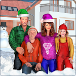 Virtual Mom Real Family Fun Winter Adventure Icon