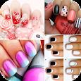 Polish nails & hello kitty