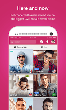 Moovz- The LGBT Social Network APK screenshot thumbnail 6