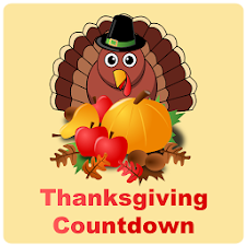 Thanksgiving Countdown App