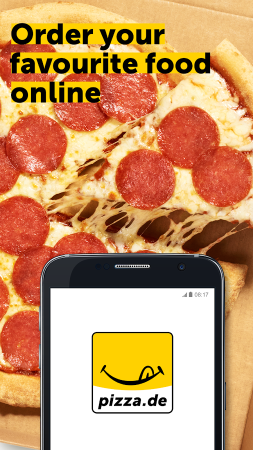 pizza.de - order food online Screenshot 0