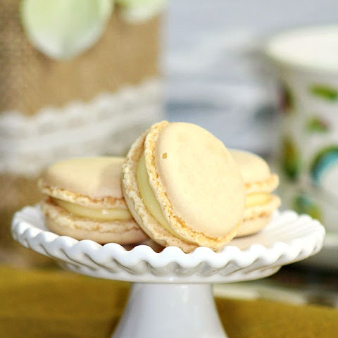 Homemade French Vanilla Macarons