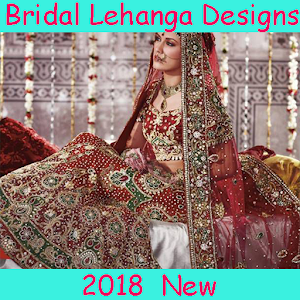 Download Bridal Lehanga Designs HD 2018 For PC Windows and Mac
