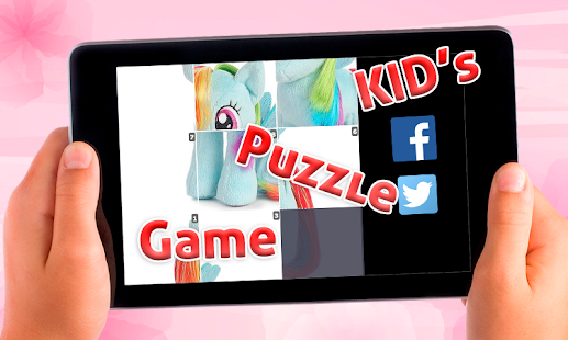 Sliding Puzzle kuda poni games - screenshot