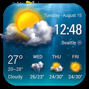 Transparent Weather Forecast Widget For PC