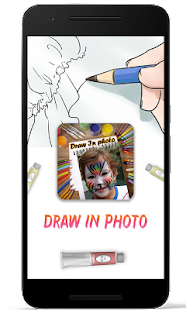 Draw In Photo Background - screenshot