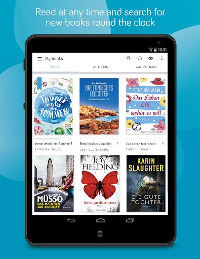 tolino e-book reading app - books reader screenshot 11