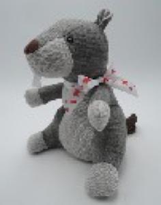 Игрушка мягконабивная плюшевая Сурок-стоппер, Город Игр