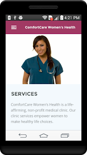 ComfortCare - screenshot
