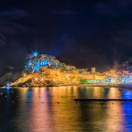 Castle Tossa de Mar by Henk Smit - City,  Street & Park  Vistas