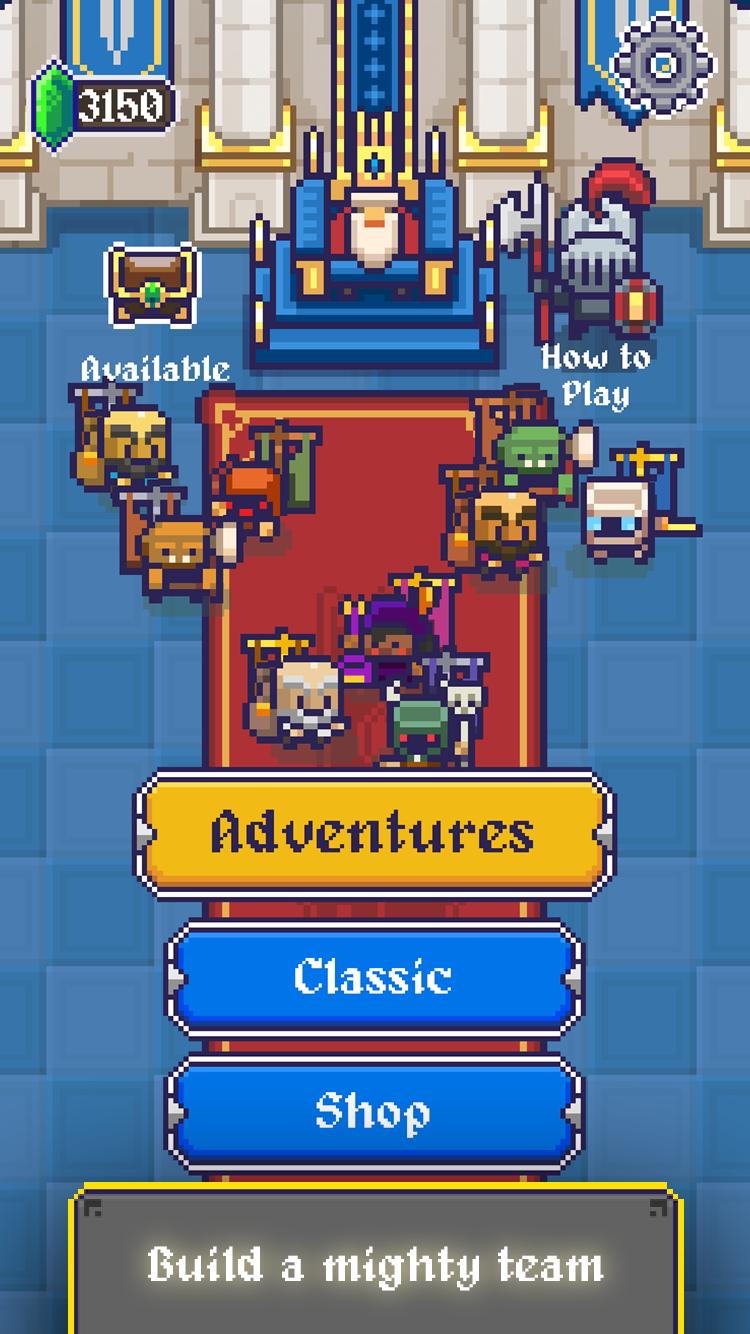 King Crusher – a Roguelike Game Screenshot 1