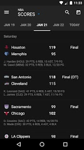Free theScore: Sports Scores & News APK for Windows 8
