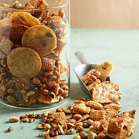 Honey-Sesame Snack Mix