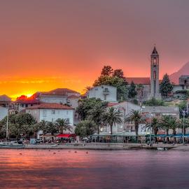 20:30 Gradac by Bojan Bilas - City,  Street & Park  Vistas ( adriatic, sunset, vista, croatia, gradac )