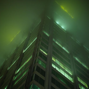 Green And Fog by Mauricio Alas - Buildings & Architecture Other Exteriors
