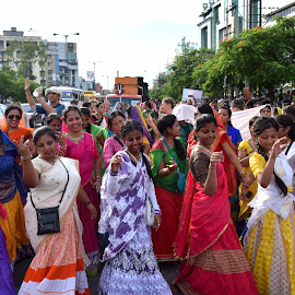 Cultural procession of ISKON by Rita Chakrabarty - People Street & Candids