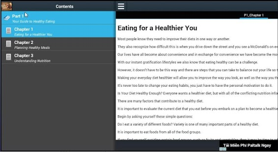 Your Guide to Healthy Eatings - screenshot