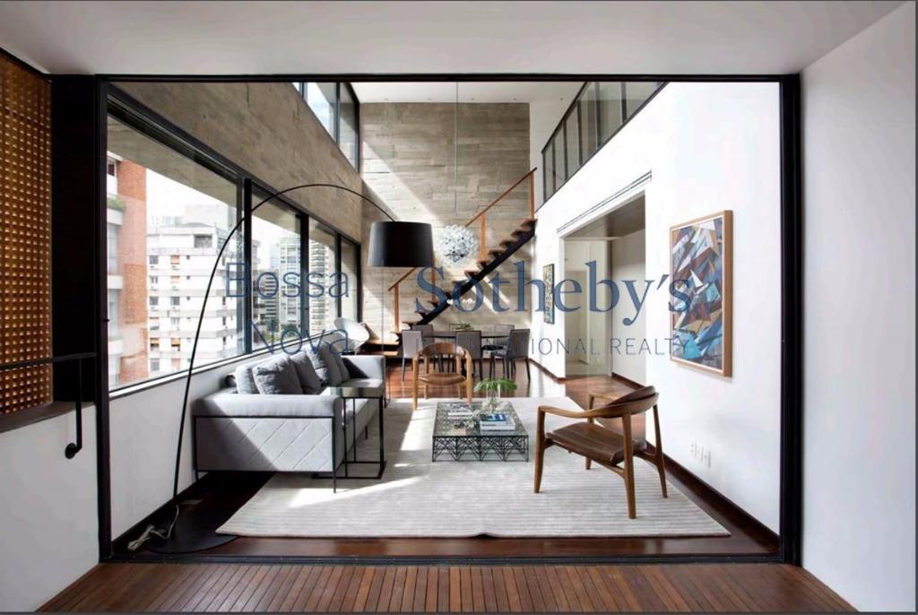 Cobertura residencial para venda e locação, Itaim, São Paulo.