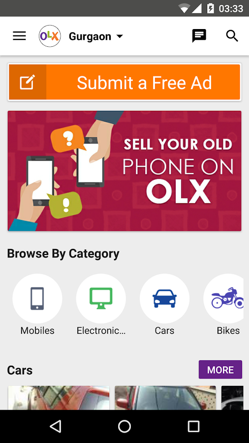 OLX Local Classifieds Screenshot 0