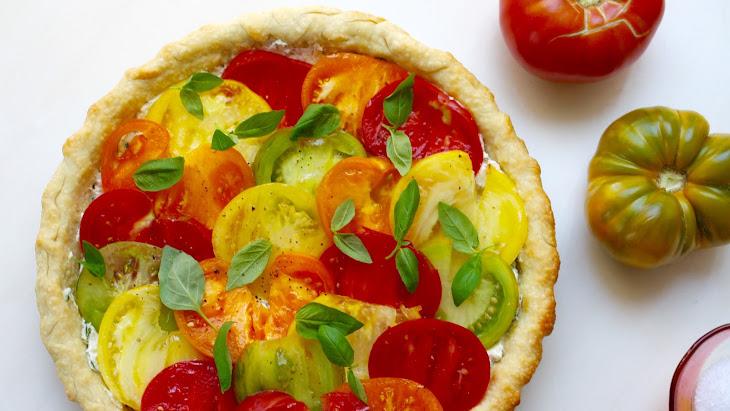Easy Heirloom Tomato Tart Recipe | Yummly