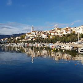 Novi Vinodolski, Croatia by Dražen Komadina - City,  Street & Park  Street Scenes ( dražen komadina, croatia, novi vinodolski )
