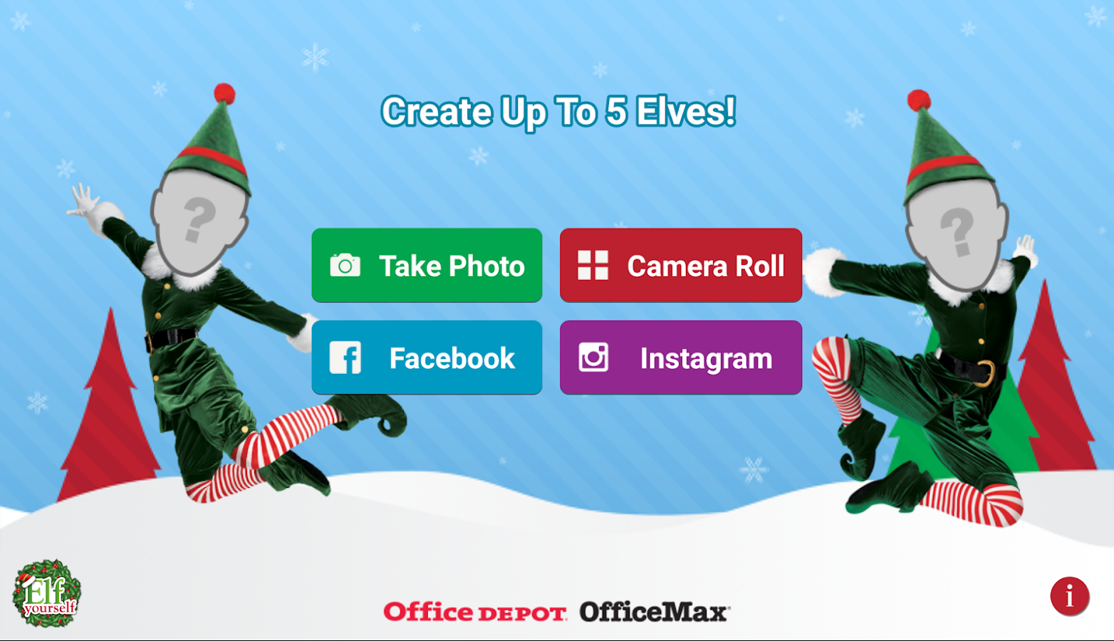 Download elfyourself by office depot for pc - Office max elf yourself free download ...