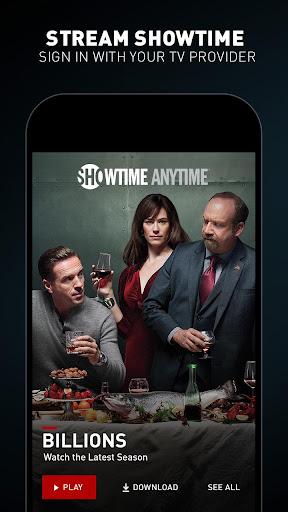 Showtime Anytime screenshot 1