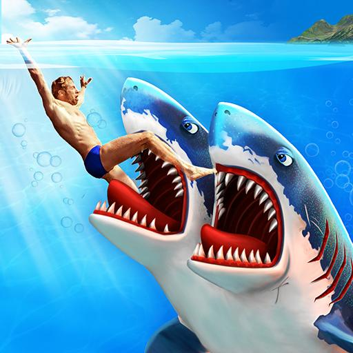 Double Head Shark Attack - Multiplayer APK Cracked Download