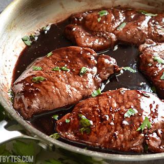 Blackberry Pork Chops Recipes
