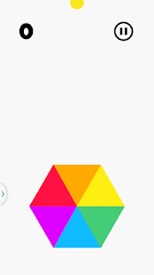 Crazy Colors Hexagon Spin - screenshot