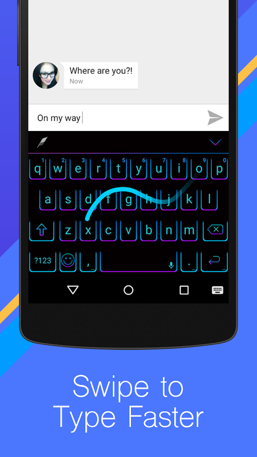 Flash Keyboard- Emoji Emoticon Screenshot 5