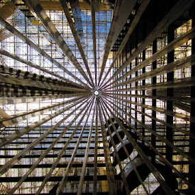 Sofitel Melbourne by Mark Williams - Buildings & Architecture Other Interior ( atrium, ceiling, melbourne, glass, sofitel, mark. b. williams. )