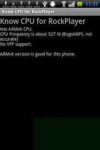 App Know CPU for RockPlayer APK for Windows Phone
