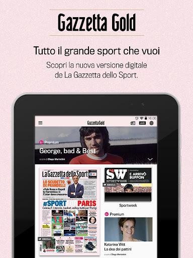 Gazzetta Gold - screenshot