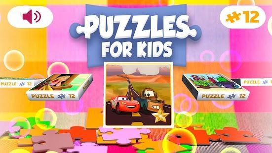 Cartoon jigsaw puzzles for kids