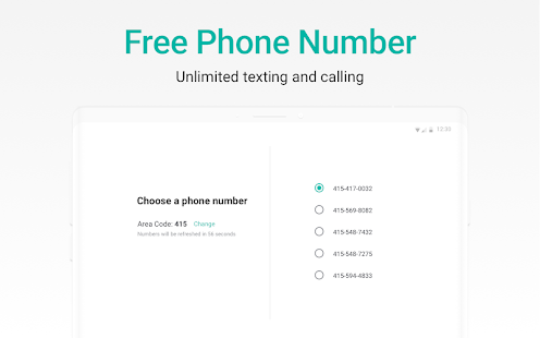 2ndLine - US Phone Number Screenshot
