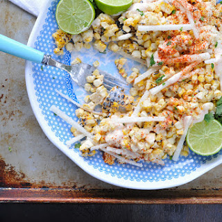 Grilled Mexican Street Corn (off the cob)